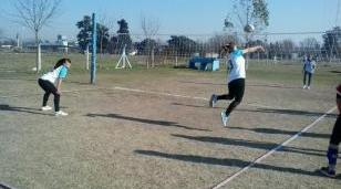 Finalizó la categoría cadete femenino de voley en Catonas