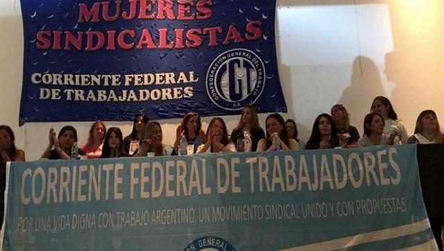 Se realizó el Primer Encuentro de Mujeres Sindicalistas en Moreno