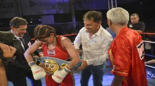 Boxeo Internacional en Moreno
