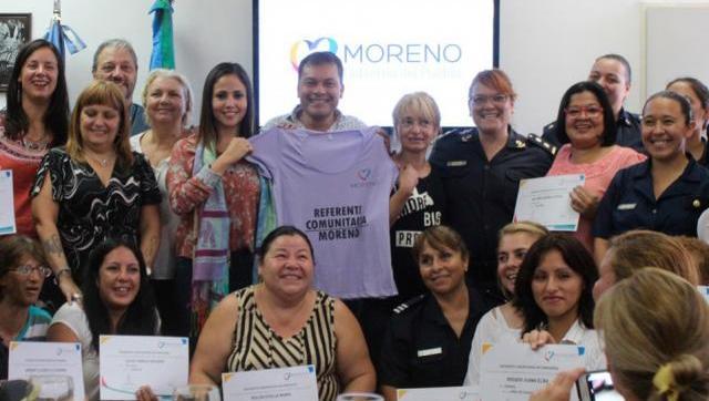 Festa reconoció a las mujeres del Programa Referentes Comunitarias en las comisarías
