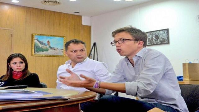 Festa recibió en Moreno al referente de