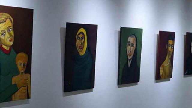 """Se inauguró la muestra """"Los Excluidos"""" del artista Juan Luque"""