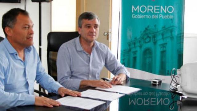 Moreno recibirá del municipio de Hurlingham 5000 luminarias que ya reemplazó por aparatos con tecnología LED