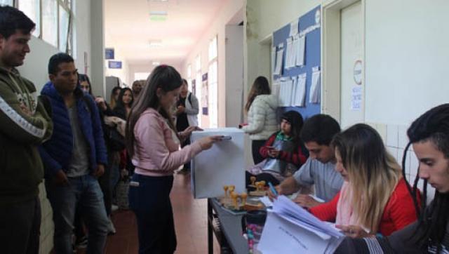 Continúan las elecciones del Centro de Estudiantes