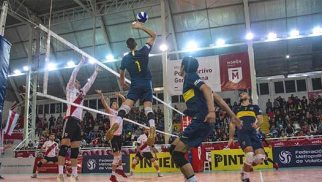 River y Lomas se quedaron con la primera semifinal de vóley en Morón