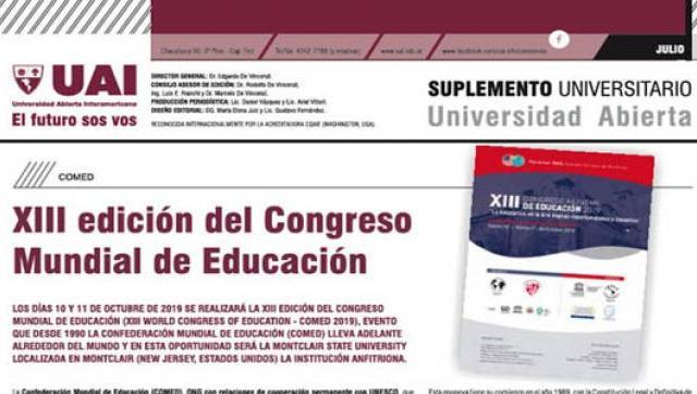 Suplemento de la UAI de Julio 2019