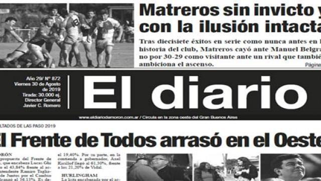 El diario 872