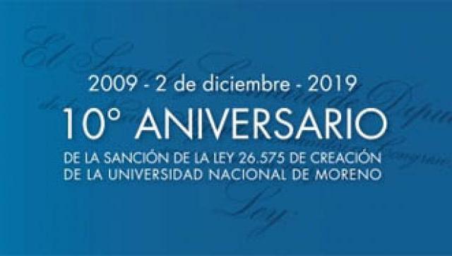 La UNM festeja su 10 aniversario