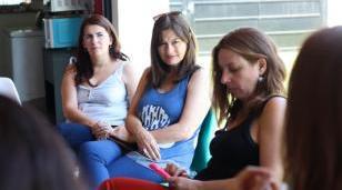 La Ministra Estela Díaz visitó Moreno