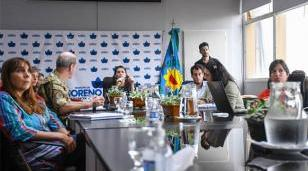 Se reunió el Comite de Emergencia por Coronavirus en Moreno