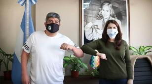 Mariel Férnandez se hará el hisopado por Covid-19 por prevención