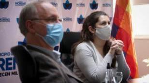 El ministro de Salud Gollán visitó Moreno