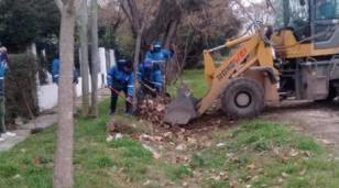 Operativos de limpieza, reparación de luminarias y mejora de calles