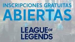 Inscripción al torneo League of Legends