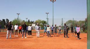 Dirigentes de la Asociación Argentina de Tenis visitaron Moreno