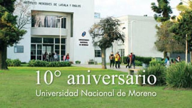 La Universidad Nacional de Moreno (UNM) cumplió 10 años