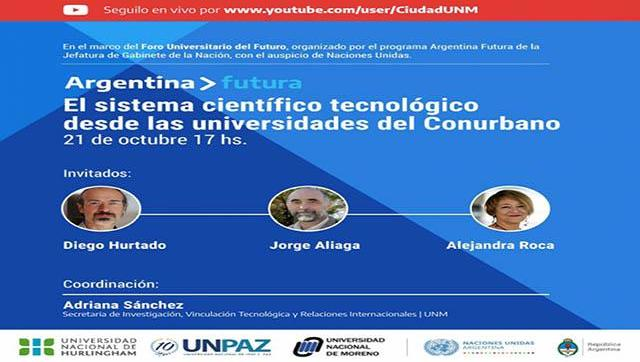 """""""El sistema científico-tecnológico desde las universidades del Conurbano"""""""