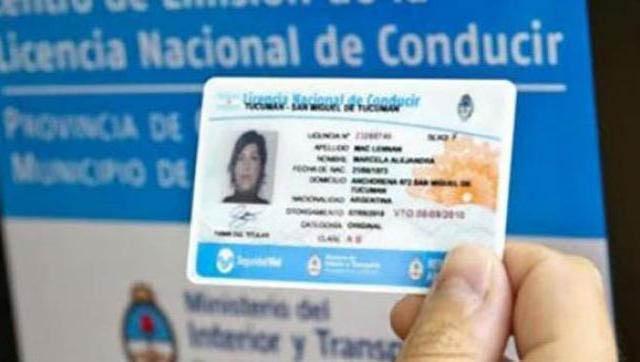 Licencias de conducir tienen nuevos vencimientos