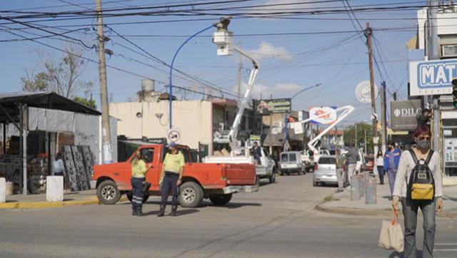Avanza la instalación de luces led en el distrito