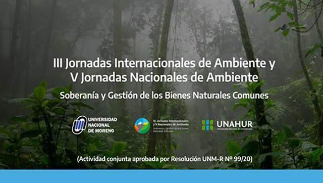 III Jornadas Internacionales de Ambiente y V Jornadas Nacionales de Ambiente
