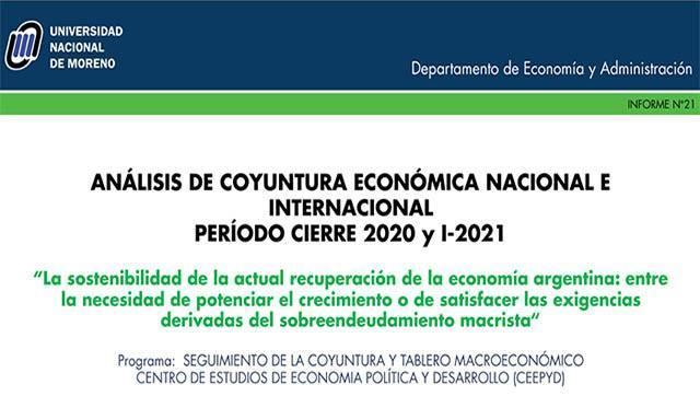 Análisis de la Coyuntura Económica Nacional e Internacional