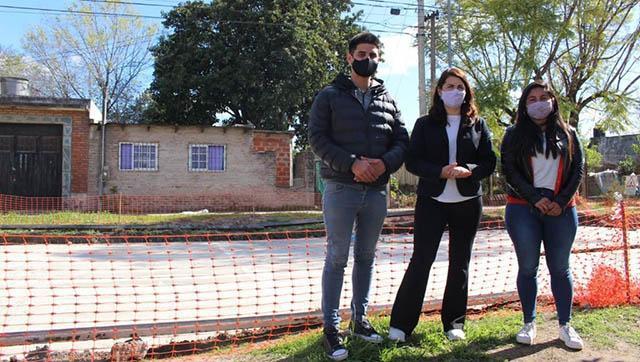 Comenzó una importante obra de pavimentación en Moreno norte