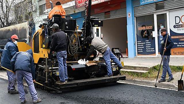 Resumen semanal de obras públicas en Moreno