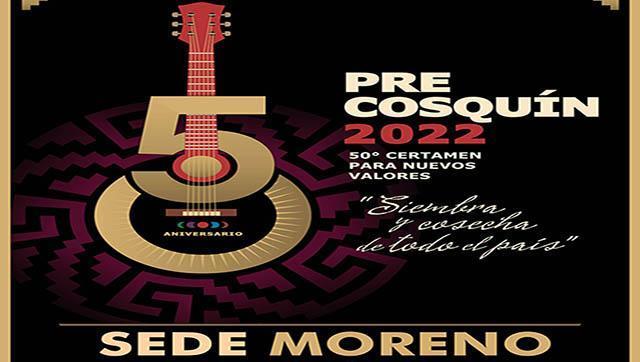 Arrancó la inscripción para participar del Pre Cosquin 2022